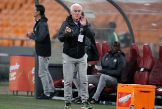 Hugo Broos, coach of Bafana Bafana