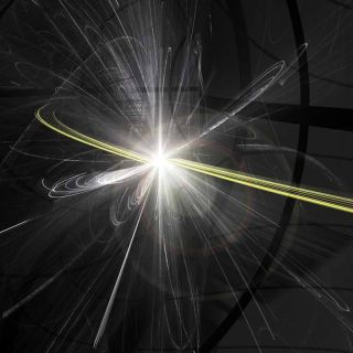 particle collisions at the large hadron collider