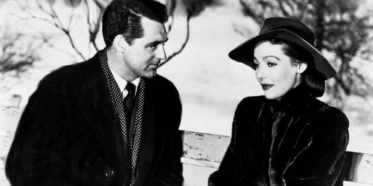 Loretta Young and Cary Grant in The Bishop's Wife