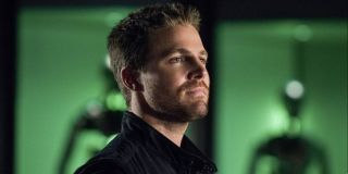 Stephen Amell as Oliver Queen on Arrow
