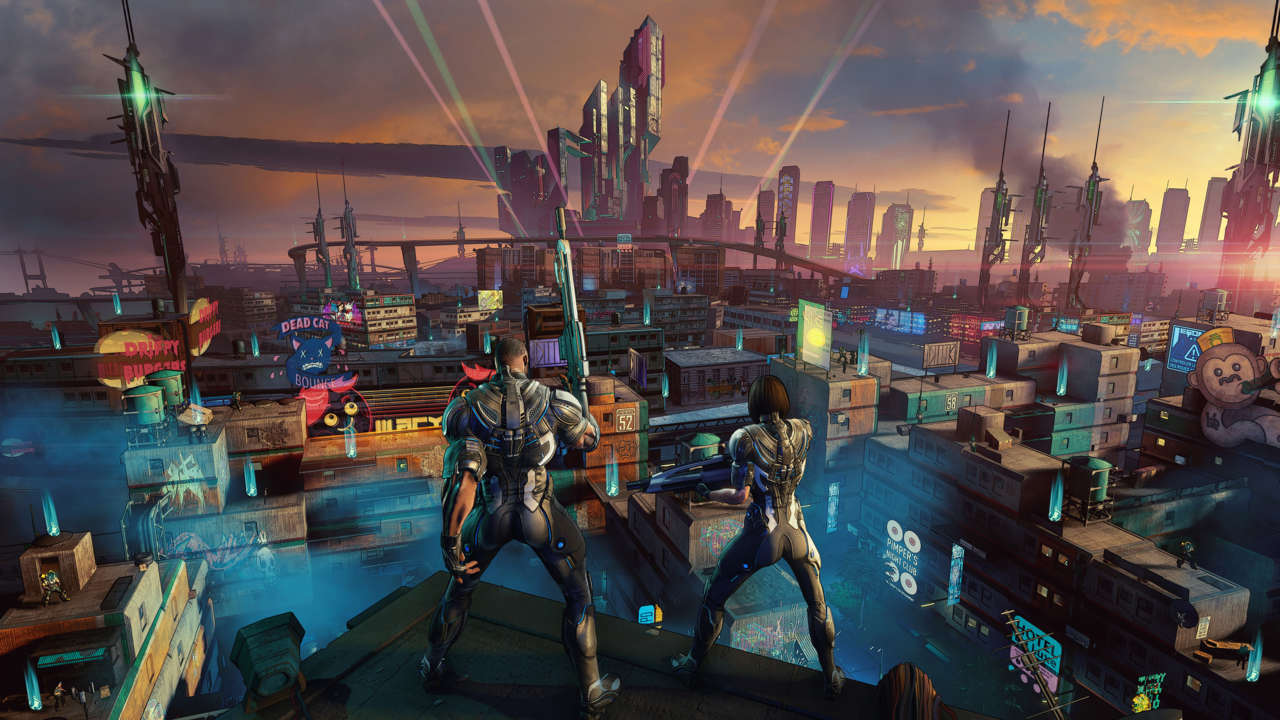 Crackdown 3 angry people.