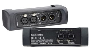 Neutrik USA has debuted the new two-input, two-output NA2-IO-DPRO Dante Interface.