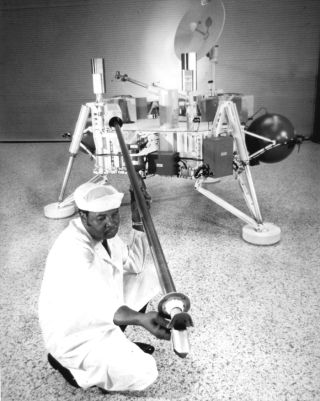 space history, nasa, viking lander, mars