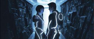 Olivia Wilde and Garrett Hedlund star in Joe Kosinski's 'TRON: Legacy'.