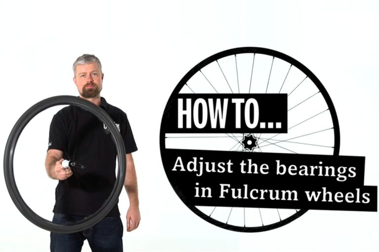 how to adjust the bearings in fulcrum wheels