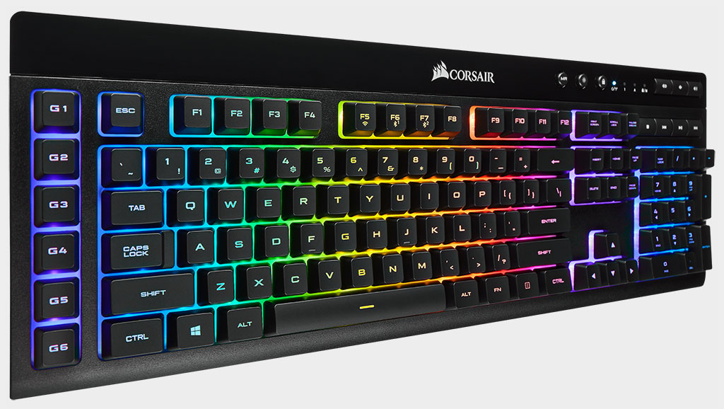 Corsair turns up the brightness on its newest wireless gaming keyboard   PC Gamer