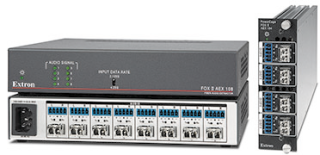 Extron Intros New Fiber Optic Audio Extractors