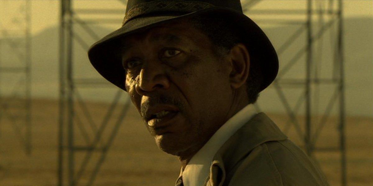 Morgan Freeman in Seven