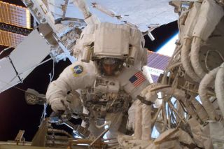 Super Sunday: ISS Spacewalkers Complete Cooling System Overhaul