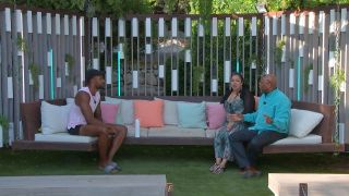 Love Island 2021 - Tyler with his mother and father, Janet and Andrew