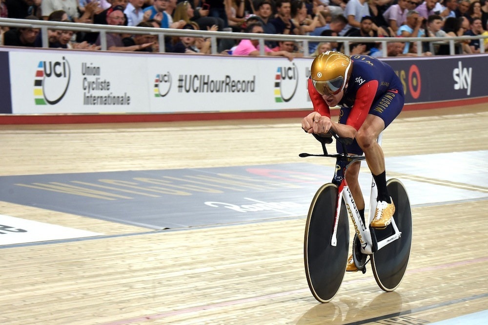 The tech behind Bradley Wiggins's Hour Record success