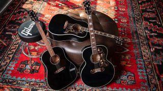 Gibson Exclusives Collection SJ-200, Hummingbird, J-45