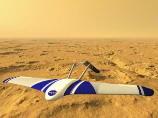 Future Mars Craft Inspires High-Tech Spy Plane