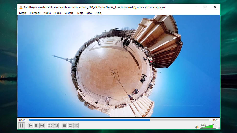 VLC Media Player now supports 360-degree video and