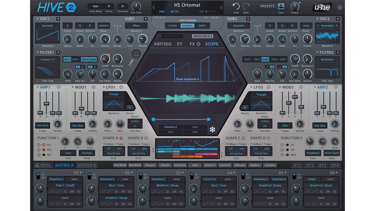 u-he's Hive 2 synth is here and it promises to be supercharged