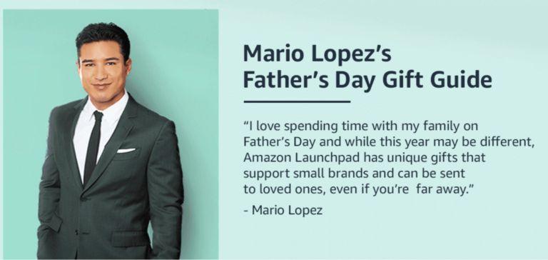 Mario Lopez for Amazon Launchpad