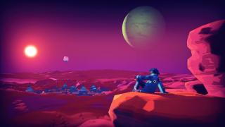 An alien vista