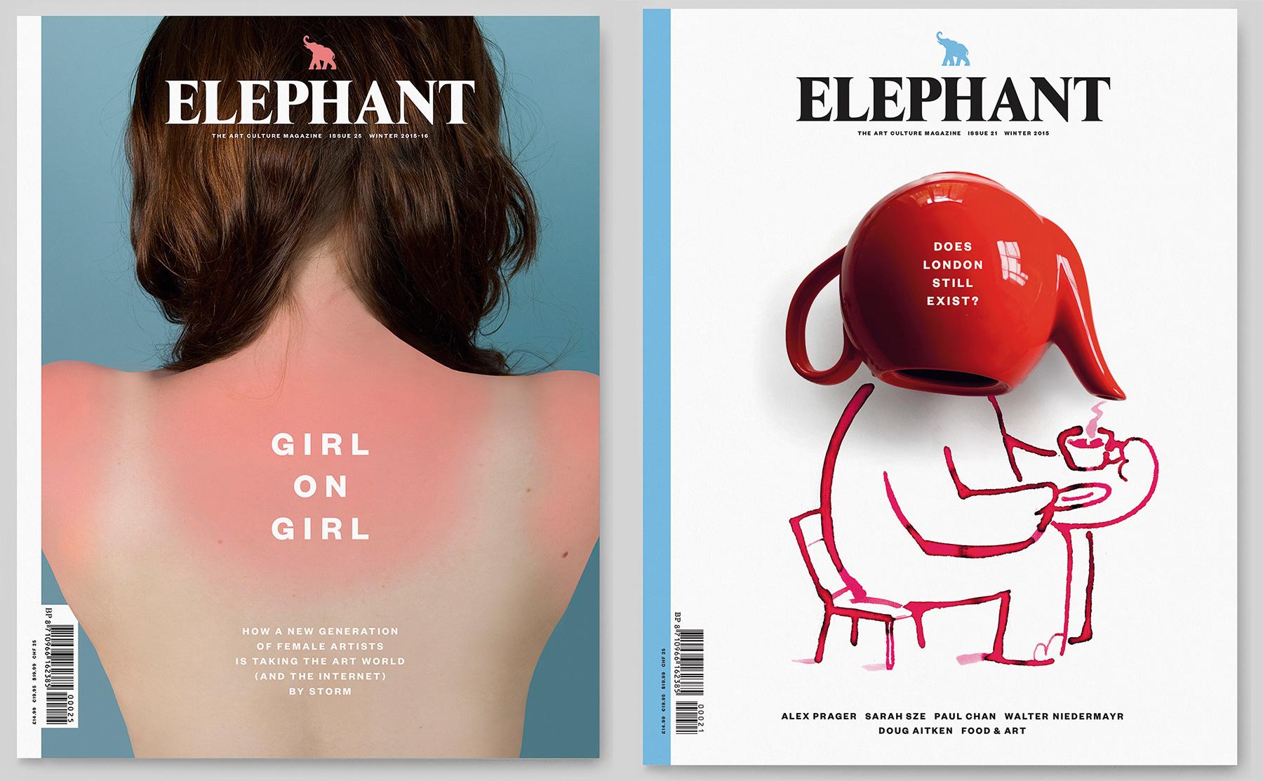 Astrid Stavro: Elephant magazine