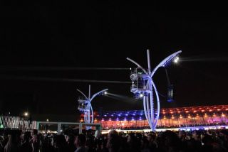 Rock in Rio Features Robert Juliat's Lancelots
