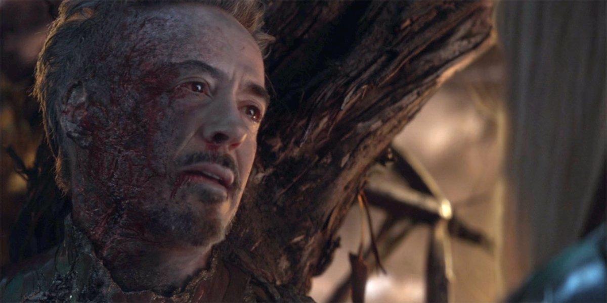 Tony Stark dying in Avengers: Endgame