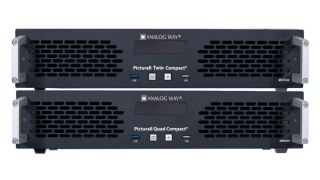 Analog Way has announced new, compact versions of its Picturall Quad and Picturall Twin media servers, delivering the same playback performance in a 2RU ruggedized chassis.