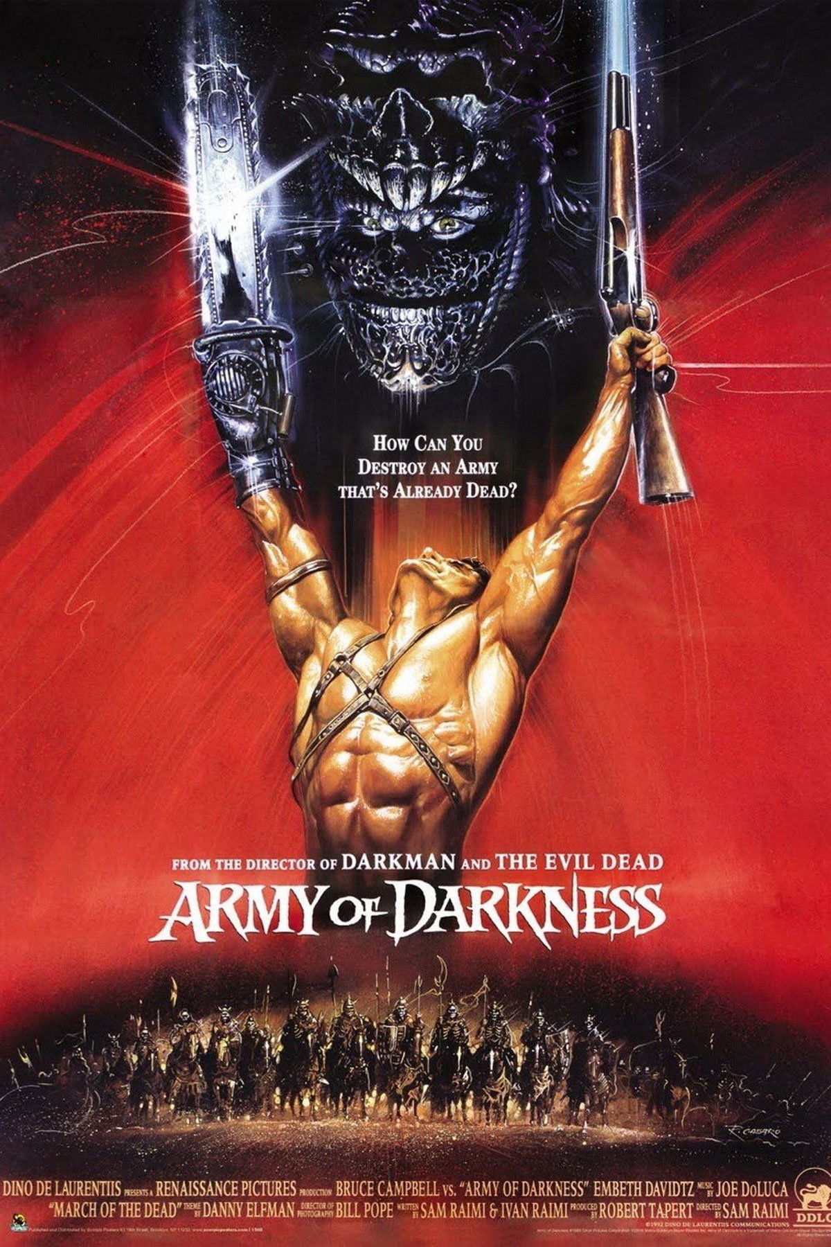 Army of Darkness official poster courtest of the studio
