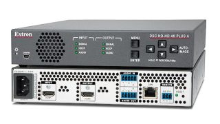 Extron Shipping 4K/60@4:4:4 HDMI Scalers