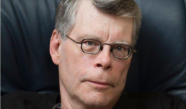 Stephen King author photo