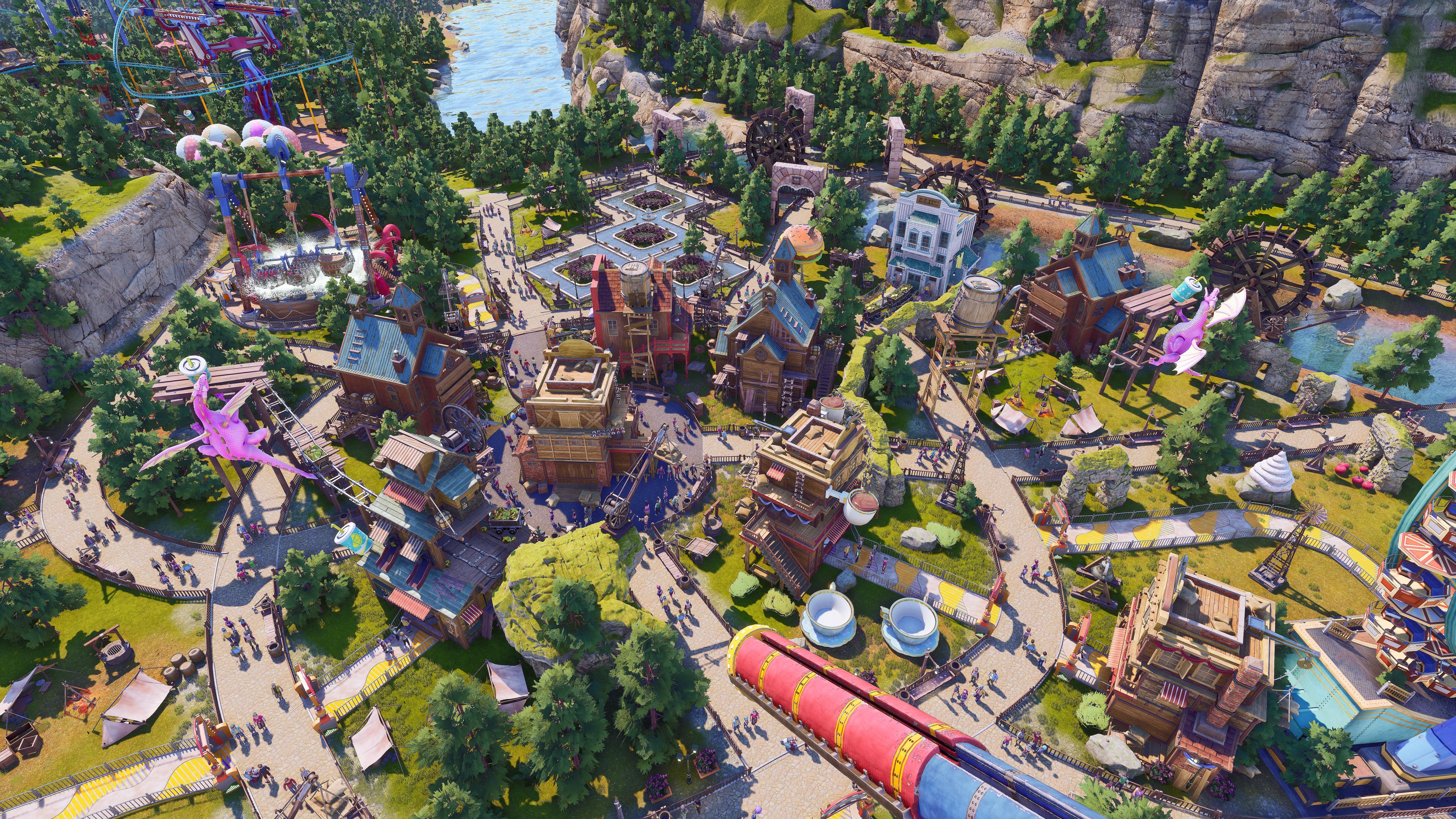 A Wild West-themed park