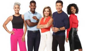 'Access Hollywood' hosts Sibley Scoles, Scott Evans, Kit Hoover, Mario Lopez and Zuri Hall.