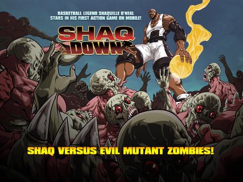 Shaq Battles Zombies In ShaqDown Mobile Game #25252