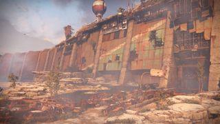 Destiny's old russia cosmodrome