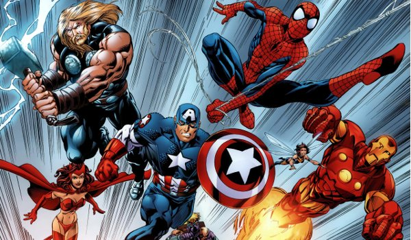 Spidey Meets The Avengers