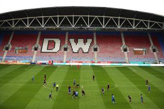 Wigan Athletic v Stoke City – Sky Bet Championship – DW Stadium
