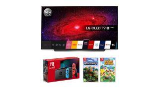 Nintendo Switch LG OLED TV bundle