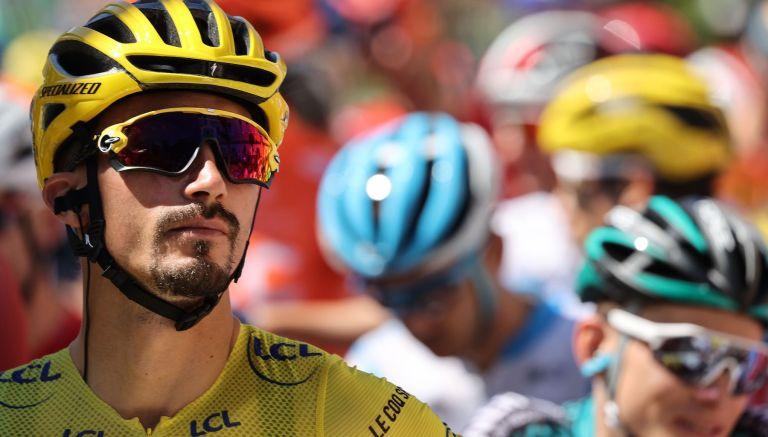 Julian Alaphilippe at the 2020 Tour de France