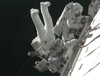 Astronauts Wrap Up Final Tasks in Delayed Spacewalk