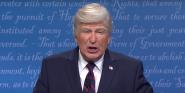 Alec Baldwin Responds After SNL Premiere Makes Jokes About Donald Trump Having COVID