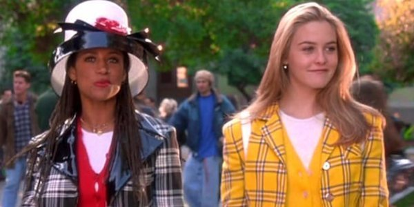 Stacey Dash and Alicia Silverstone as Dionne and Cher in Clueless