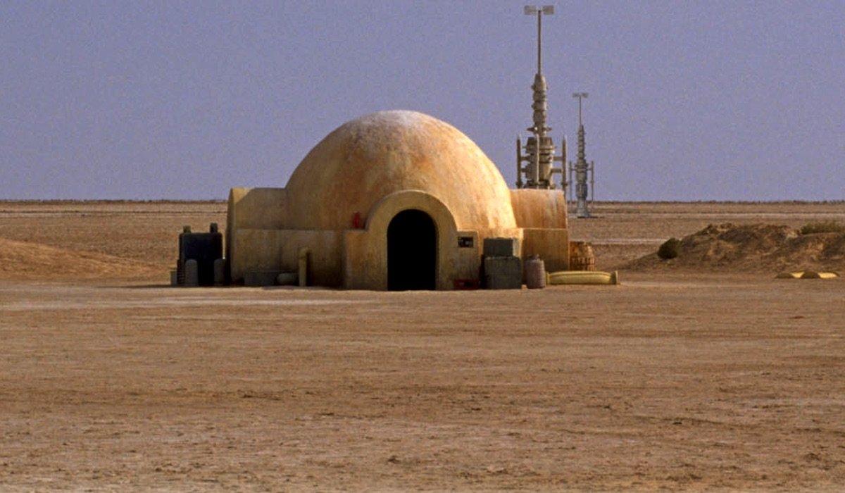 Lars homestead on Tatooine