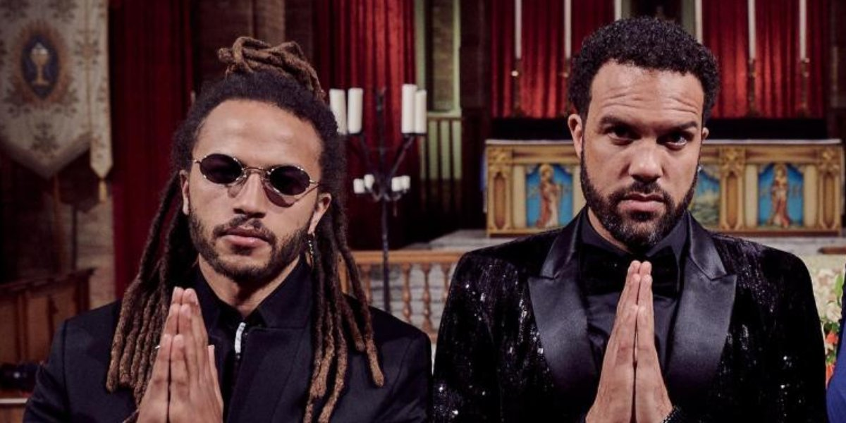 Brothers Luti Fagabenle and O-T Fagbenle on Maxxx