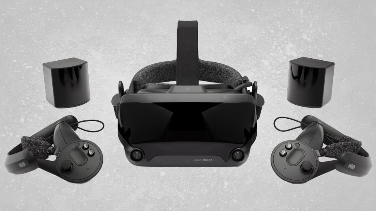 Valve Index VR Headset + Controllers