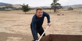 The Story Behind Gordon Ramsay Helping Make Whiskey With Sheep Poop For Nat Geo's Uncharted