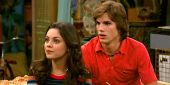 How Awkward Mila Kunis And Ashton Kutcher's First Kiss Was On That 70s Show