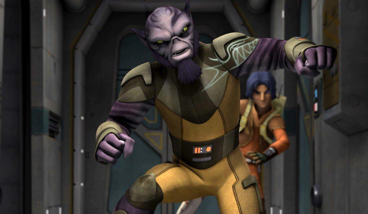 Zeb hitting a wall Star Wars Rebels