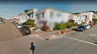 Google street view blurred homes