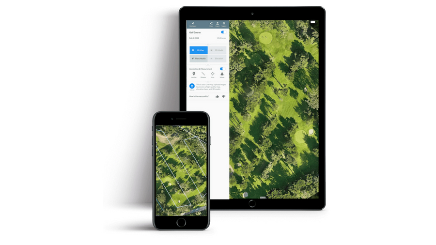 DroneDeploy's'Live Map' software