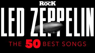 A 50 best led zeppelin songs graphic