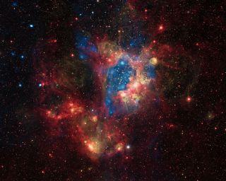 Superbubble in Large Magellanic Cloud