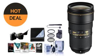 $500 off the Nikon 24-70mm f/2.8E (with over $100 of free extras!)